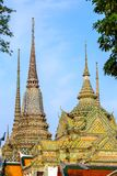 Wat Pho temple in Bangkok Royalty Free Stock Photography