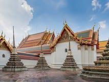 Wat Pho temple in Bangkok. Stock Photo