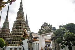 Wat Pho Temple Bangkok Thailand-architectuur Stock Afbeeldingen