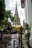 Wat Pho Temple Bangkok Thailand-architectuur 5 Royalty-vrije Stock Foto