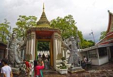 Wat Pho Temple Bangkok Thailand-architectuur 8 Royalty-vrije Stock Fotografie