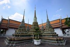 Wat Pho Temple da Buda de reclinação Imagem de Stock Royalty Free