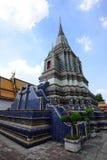 Wat Pho Temple da Buda de reclinação Foto de Stock Royalty Free