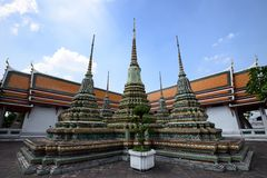 Wat Pho Temple des stützenden Buddhas Lizenzfreies Stockbild