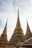 Wat Pho Temple Details Royaltyfri Foto