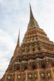 Wat Pho Temple Details Fotografering för Bildbyråer