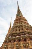 Wat Pho Temple Details Royaltyfria Foton