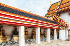 Wat Pho Temple Details royalty free stock image