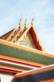 Wat Pho Temple Details Stock Images