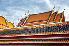 Wat Pho Temple Details Stock Photos