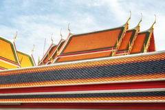 Wat Pho Temple Details Stock Photography