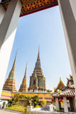Wat pho temple Royalty Free Stock Photos