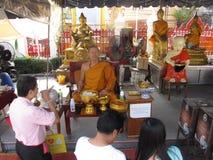 Wat Pho temple 03 Stock Photos