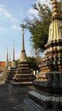 Wat Pho Temple Interior in Bangkok, Thailand Lizenzfreies Stockfoto