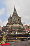 Wat Pho ,the Temple of the Reclining Buddha in Bangkok , Thailan Royalty Free Stock Image