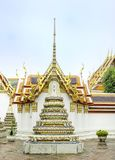 Wat Pho,The Temple of reclining buddha, Bangkok. Thailand Stock Photo