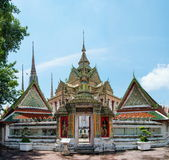 Wat Pho, the Temple of the Reclining Buddha in Bangkok, Thailand Stock Photography