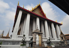 Wat Pho,the Temple of the Reclining Buddha in Bangkok , Thailand Royalty Free Stock Images