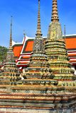 Wat Pho or Temple of the Reclining Buddha in Bangkok, Thailand Royalty Free Stock Image