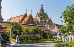 Wat Pho Temple, Royal Palace, Bangkok, Tailandia Fotografía de archivo
