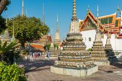 Wat Pho Temple, Royal Palace, Bangkok, Thailand Stockbild