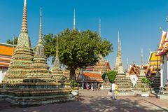 Wat Pho Temple, Royal Palace, Bangkok, Thailand Lizenzfreie Stockbilder