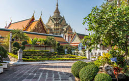 Wat Pho Temple, Royal Palace, Bangkok, Thaïlande Photographie stock
