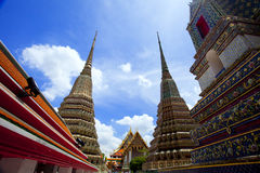 Wat Pho temple, Thailand Stock Photography