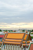 Wat Pho Temple at Thialand Royalty Free Stock Photo
