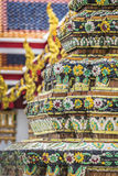 Wat Pho Temple at Thialand Stock Photography