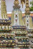Wat Pho Temple at Thialand.  Royalty Free Stock Image