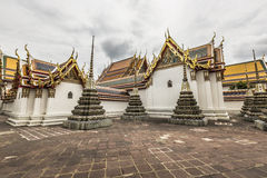 Wat Pho Temple at Thialand Stock Image