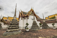 Wat Pho Temple at Thialand Royalty Free Stock Photography