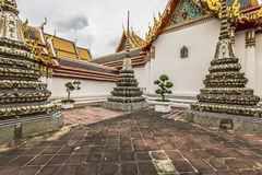Wat Pho Temple at Thialand Royalty Free Stock Photo