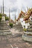 Wat Pho Temple at Thialand.  Stock Photo