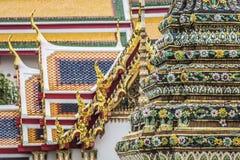 Wat Pho Temple at Thialand.  Royalty Free Stock Photos