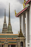 Wat Pho Temple at Thialand Royalty Free Stock Image