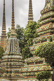 Wat Pho Temple at Thialand Stock Images