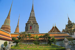 Wat Pho (templet av vilaBuddha) Royaltyfri Fotografi