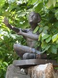 Wat Pho Thai Massage School-Service-Center stockbild