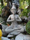Wat Pho Thai Massage School servicemitt fotografering för bildbyråer