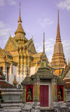 Wat-pho: thai temple_4. Colorful and elegance thai temple in bangkok Stock Image