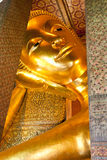Wat Pho in Thailand. Wat Pho, the oldest historical sites in Thailand and that Thailand's tourism Stock Images