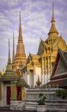 Wat-Pho: Thaise temple_2 Stock Afbeeldingen