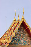 Wat Pho ή Wat Phra Chetupon Vimolmangklararm Στοκ φωτογραφία με δικαίωμα ελεύθερης χρήσης