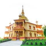 Wat pholphao temple at Luangprabang Laos World Heritage Stock Photography