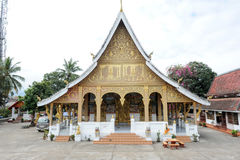 Wat Phonsay temple in Luang Prabang Royalty Free Stock Photos