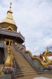 Wat Phothisompom有纳卡语美好在Udon Thani 库存图片