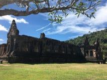 Wat Phou, Laos lizenzfreie stockbilder