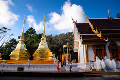 Wat Phra土井桐树,泰国 免版税图库摄影